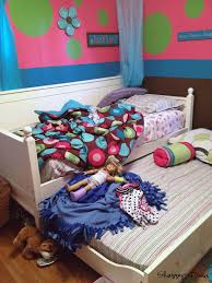shabby remix american doll bed