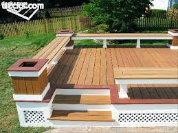 how to build deck bench seating built in deck seating umechuko info