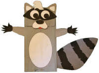 raccoon crafts for kids