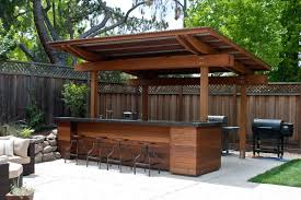 Outdoor Kitchen Pavilion Designs by 20 Creative Patio Outdoor Bar Ideas You Must Try At Your