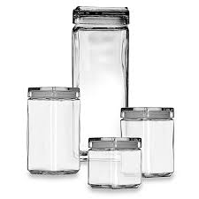 28 square kitchen canisters oxo good grips 6 quot square