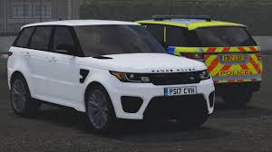 range rover svr 2017 2017 police range rover svr gta5 mods com