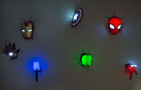 Superhero Bathroom Accessories by Decorate Walls Of Your Kid U0027s Room With Cool 3d Marvel Superhero