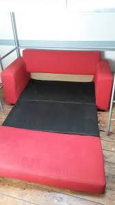 canapé convertible m canapé convertible déplimousse 2 places en tissu mes occasions com