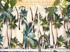 tropical cafe tier curtains ebay