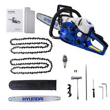 hyundai hyc6222 petrol chainsaw world of power