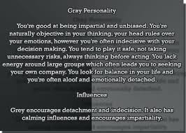what does the color gray mean color meaning chart source here