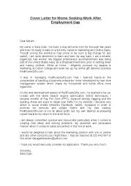 Example Of Stay At Home Mom Resume Cover Letters Returning Work Mothers Resume Tips For Parents