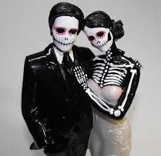 day of the dead wedding cake topper day of the dead wedding cake toppers