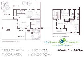 Two Storey Floor Plans The Prestige Subdivision Mike Two Storey Floor Plan