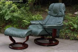green leather recliner reclining chair local classifieds buy