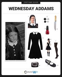 Wednesday Addams Costume Dress Like Wednesday Addams Costume Halloween And Cosplay Guides
