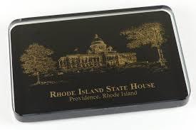 minimalist paperweight rhode island state house pm000ri eglomise