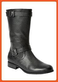 womens boots size 11 ww comfortview plus size bria wide calf leather boot black 11 ww
