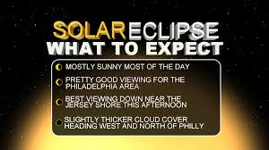 partial solar eclipse to blanket philly region this afternoon
