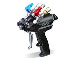 Bed Liner Spray Gun Graco Probler P2 Plural Component Air Purge Gun