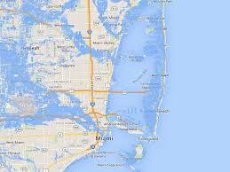Miami Design District Map by Will You Be Underwater When Sea Levels Rise Find Out Here