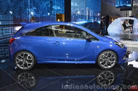 opel corsa opc interior opel opc side view at 2015 geneva motor show indian autos blog
