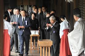 War Cabinet Ww2 Abe And His Cabinet Steer Clear Of War Linked Yasukuni Shrine On