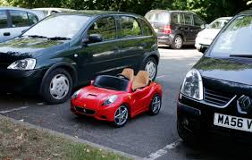 Weather Hale Barns A Child U0027s Toy Ferrari Is Parked Between Two Hatchbacks At The Hale