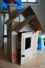 Cardboard House by Charcoal And Crayons Ollie U0027s House
