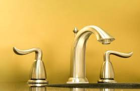 gold bathroom faucet lowes recycling plated plumbing fixtures all
