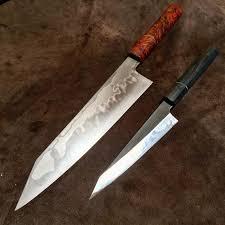 Custom Japanese Kitchen Knives Oatley Knives Blades Pinterest Knives Weapons And Blacksmithing