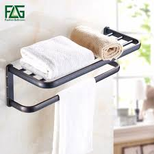 Oil Rubbed Bronze Bathroom Shelves by Oil Rubbed Bronze Towel Rack Promotion Shop For Promotional Oil