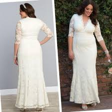 plus size modest wedding dress pluslook eu collection