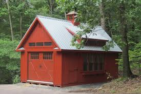 14x24 colonial storage barn duratemp painted siding metal roof