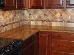 travertine tile backsplash noche blend tumbled travertine with