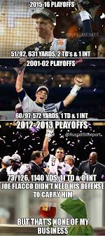 Nfl Meme - nfl memes draws stupid joe flacco peyton manning parallel