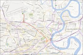 Mekong River Map Vietnam Ho Chi Minh City To Con Tho Via The Mekong River 15 March