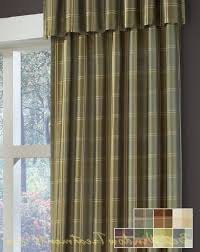 Drapes 120 Inches Long Envoy Plaid Curtain Drapery Panels Plaid Colors And The O U0027jays