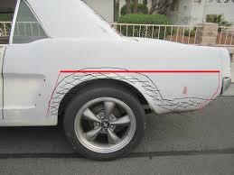 1965 mustang sheet metal 65 coupe sheet metal repair advice ford mustang forum