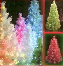Fibre Optic Slim Christmas Trees - fiber optic christmas trees beautiful christmas pinterest