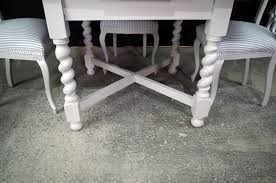 antique draw leaf table antique oak draw leaf table 4 pierced back antique chairs painted