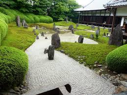 japanese garden ideas simple garden idea with stone bridge also