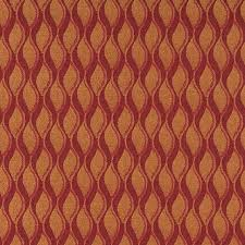 Upholstery Fabric Striped Red Burgundy And Gold Wavy Striped Durable Upholstery Fabric By