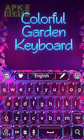 go keyboard apk colorful garden go keyboard for android free at apk here
