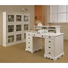 rehausse bureau ensemble bureau et bibliothèque blancs beaux meubles pas chers