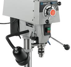 delta dp350 shopmaster 1 3hp 12 inch bench drill press ryobi