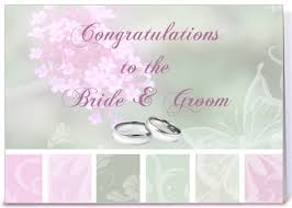 congratulations groom greeting card by starstock
