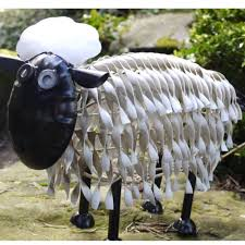 garden decoration metal sheep garden decoration metal sheep