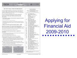 fafsa presentation presented by barb harnish financial aid