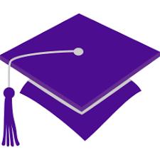 purple graduation cap graduation cap