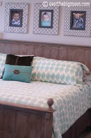 Bedroom Furniture Makeover - chalk paint master bedroom furniture makeover over the big moon