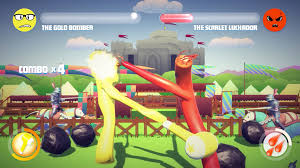 inflatable arm flailing tube men fighting game inflatality hits