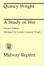 a study of war wright
