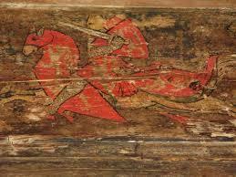 soffitti dipinti armi amori e fantasie rivelazioni medioevo nei soffitti